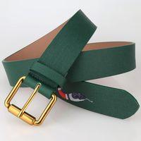 ingrosso modelli di design della cintura di cuoio-perno di disegno 2020 di moda fibbia serpente Cintura di lusso cinture modello animale di alta qualità del progettista per gli uomini e donne della cinghia genuina del cuoio per il regalo
