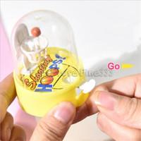 parmak topu oyuncakları toptan satış-Shootiny Çemberler Oyuncaklar Parmak Basketbol Hoop Oyuncak Basketbol Hoop Topları Erkek Kız için Set Küvet Çekim Oyunu