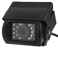 противотуманная резервная камера оптовых-18 LED Anti Fog IR Night Vision Waterproof Car Rear View Reverse Backup Camera For driver Road monitoring car dvr