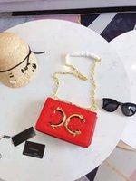 bayanlar moda gece çantaları cüzdanlar toptan satış-Yeni Parlak Harfler Moda Zincir Omuz Onun High-end Ziyafet MS Küçük Paket Çantalar Bayanlar Çanta Tasarımcısı Debriyaj Çanta Akşam