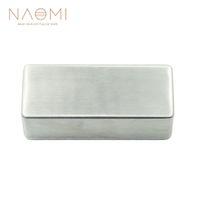 NAOMI Electric Guitar Humbucker Pickup Cover No Holes Fits For Guitar Pickups Guitar Parts & Accessories New
