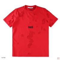 горячие летние рубашки для мужчин оптовых-Мужские повседневные дизайнерские фирменные футболки Мужские футболки с надписью Hot Sell Summer Повседневная уличная одежда Фирменные футболки для мужчин и женщин Короткие рубашки Верхние футболки S-2XL