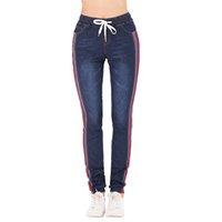 6c05a828d1 jeans rayados para mujer al por mayor-Tallas grandes 5XL Jeans para mujer  Cintura alta