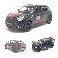 New 1:32 Scale Mini Cooper Metal Toy Alloy Car Diecasts Toy Vehicles Car Model Miniature Pull Back Toys For Children Gifts J190525