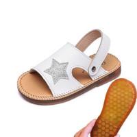 weiße kleinkindmädchen sandalen großhandel-Kinder Sandalen 2019 Sommer Kinder Strand Schuhe Kleinkind Sandale Junge Mädchen Sandalen Rutschfeste Kind Schuhe Schwarz Weiß Rosa # 47
