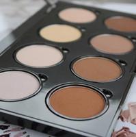 Hot Highlighters NYX Highlight Contour Pro Palette professionnelle pour illuminer et accenture 8color Shadow face Foundation