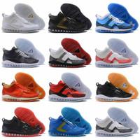 zapatillas de baloncesto lebron x al por mayor-John The lebron shoes James x el más nuevo Elliot zapatos de baloncesto 14 colores de la venta caliente diseñador Mens Sports Trainer Sneakers Eur 40-46
