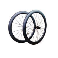 ingrosso le ruote di strada opache matte-2019 T1000 UD 3K 700C 38mm 50mm 60mm 88mm profondità disco freno ruote bici da strada in carbonio disco racking wheelset della bicicletta made taiwan XDB