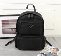 17 deri toptan satış-Yeni klasik moda retro tarzı lüks tuval deri sırt çantası tasarımcı en kaliteli sırt çantası 025 boyutu 40 cm 29 cm 17 cm