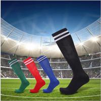 Wholesale hot men sock soccer resale online - 10 pairs Sports Socks Knee Legging Stockings Soccer Baseball Football Over Knee Ankle Men Women Socks Hot Sale A89