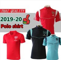 Wholesale polo football for sale - Thailand quality arsenel AUBAMEYANG LACAZETTE soccer polo shirt OZIL TORREIRA IWOBI football Sport Polo training shirt
