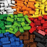 oyuncak yapı tuğlaları markaları toptan satış-1000 Parça Yapı Taşları Legoings Şehir DIY Yaratıcı Tuğla Toplu Modeli Rakamlar Eğitici Çocuk Oyuncakları Uyumlu Tüm Markalar