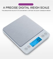 Wholesale stainless kitchen scale resale online - Digital Kitchen Scale Mini Pocket Stainless Steel Precision Jewelry Electronic Balance Weight Gold Grams gx0 g