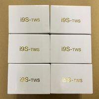 ingrosso casi di telefono per androidi-i9 i9s TWS cuffie wireless bluetooth 5.0 auricolari auricolari stereo per IOS telefono Android + custodia magnetica di protezione custodia in silicone