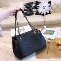 çanta moda marka kadın çantaları toptan satış-Y marka Nolita tasarımcı çanta zincir omuz kadınlar lüks çanta çanta moda tote kadınlar tasarımcı çanta moda çanta çanta