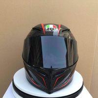 off r toptan satış-Agv Pista GP R Siyah Kırmızı REPLICA yüksek kalite Tam Yüz Motosiklet Kask off-road kask motobike motokros kask (Çoğaltma-Orijinal değil)