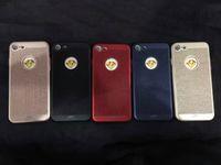 pu case al por mayor-BW07 estuche trasero de PU tipo madera creativo para iPhone7 plus, cubierta posterior suave para iPhone7 plus