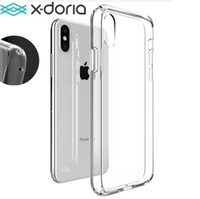 Wholesale iphone back battery cover black for sale – best X doria Clearvue Case Defender Case High Impact Heavy Duty Hard Rugged Rubber Fense Case Back Cover for iPhone Xs max XR free epacket