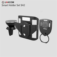 toque para celular venda por atacado-JAKCOM SH2 Conjunto Inteligente Titular Venda Quente em Telemóveis Monta Titulares como smartphone anel telefone titular cama celular