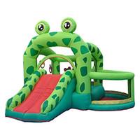 compra de juguetes al por mayor-Inflables Bounce House Animal Bouncy House Castle para niños Fiesta con soplador de aire