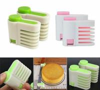 Wholesale kitchen cut set for sale - Cake Bread Cutting Shard Cake Layered Device Bread Division Cakes Slicer Separators Kitchen Baking Tools set