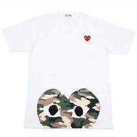 neu gedruckte t-shirts großhandel-Männer T-shirt 2019 Sommer Neue Designer T-shirts Luxus T-shirt Kurzarm T-stücke Herz Druck Lustige Top Tees