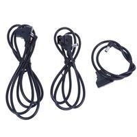 fuentes de alimentación masculinas al por mayor-0.6m / 1m / 1.5m D-Tap Conector Macho de 2 Pines para DC 5.5 * 2.5mm Enchufe Cable de Alimentación para BMCC BMPC DSLR