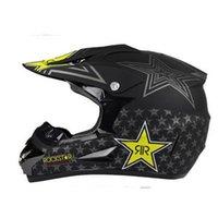 abs bisiklet kaskları toptan satış-Ücretsiz Kargo Motocross Kask Off Road ATV Çapraz Kaskları MTB DH Yarış Motosiklet Kask Dirt Bike Capacete
