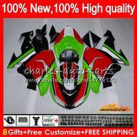 Wholesale zx ninja for sale - Group buy Body For KAWASAKI ZX R ZX green red frame ZX R Bodywork HC ZX1000 CC ZX10R ZX CC ZX R Fairing kit