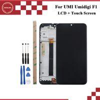 umi handys großhandel-ocolor Für UMI Umidigi F1 LCD Display und Touchscreen Mit Rahmen 6,3