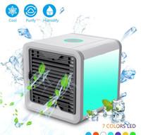 secretária mecânica venda por atacado-Novo Refrigerador de Ar Arctic Air Espaço Pessoal Cooler A Maneira Rápida e Fácil de Refrigerar Qualquer Espaço Ar Condicionado Dispositivo de Mesa de Escritório Em Casa