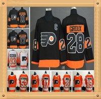 f2b84b205 Men Women Kids Philadelphia Flyers 28 Claude Giroux 17 Wayne Simmonds 53 Shayne  Gostisbehere Konecny Voracek 19 Nolan Patrick Hockey Jerseys