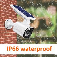ip66 led leuchten großhandel-LED Solar Wandleuchte Aluminium 800lm IP66 Wasserdichte Gartenlampe 3 Betriebsarten Induktionslicht für den Innenhof im Freien