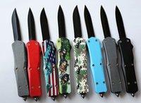 mejores cuchillos afilados al por mayor-Los más vendidos Cuchillos A07 14 modo 9 pulgadas 440 cuchilla de acero afilada cuchillo plegable para acampar Sin LOGOTIPO Aceptado embalaje de caja de color personalizado