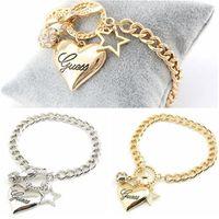 Wholesale copper tin wholesale for sale - Alloy Bracelet New high grade fashion luxury exaggerate Multilayer Crystal ball heart Pentagram rhinestone bracelet women jewelry
