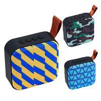 entrada de micro al por mayor-Nuevo altavoz inalámbrico Bluetooth mini tarjeta Portátil aux usb subwoofer caja de audio móvil con micrófono y caja minorista