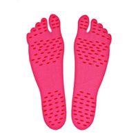 клеи для обуви оптовых-Mounchain Women Men's Adhesive Foot Pads Feet Sticker Stick On Soles Flexible Feet Protection Anti-skid Beach Stealth Shoes