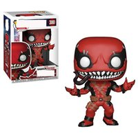 Wholesale safety toy online - FUNKO POP The Avengers Model Doll Super Hero Dead Pool Venom Exquisite Toy PVC Safety Hot Sale bx I1