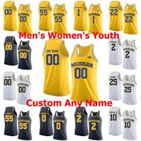 Wholesale michigan basketball jerseys for sale - Group buy NCAA Michigan Wolverines College Basketball Jerseys Isaiah Livers Jersey Eli Brooks David DeJulius Cole Bajema Ray Jackson Custom Stitched