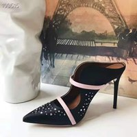 stoffcharme verkauf großhandel-Hot Sale-Top-Qualität Edition Imported Seidenstoff Imported Schaffell Fußkissen Handmade raffinierten Charme Frauen Sandaletten