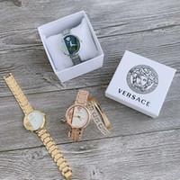 relojes de acero para niñas al por mayor-2020 nuevas llegadas dial de la manera mujeres de la muchacha Vestido Relojes de moda deportiva de acero del cuarzo del reloj para mujer dama hembra Relógio señoras de Montre con la caja