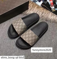 Wholesale black cat slippers for sale - Group buy Designer Men Women s Rubber Sandals Colourful Casual G Print Tiger Snake Bee Cat Slippers Leather Flat Shoes Flip Flop