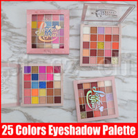 Wholesale eyeshadow colors for blue eyes for sale - Group buy Eye Makeup For Me Only Love You Glitter Shimmer Eye Shadow Color Matte Metallic Flash Eyeshadow Pro Palette Christmas Gift Styles