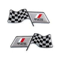 ingrosso body toyota autoadesivo-Applicabile alla modifica TRD Toyota Racing parafango bandiera / serbatoio carburante / corpo adesivo decorativo manica