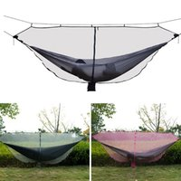 Wholesale camping tents for sale resale online - 2019 Hot Sale Portable Double Person Hammock Mosquito Net for Camping Garden Hunting Travel ing
