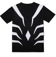 ingrosso costume nero corvo-2019 Anime A Certain Magical Index Accelerator Black Tee Cosplay Costume Manica corta Girocollo T-Shirt Top casual
