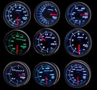 Wholesale water color meter resale online - ADDCO quot mm Color LED Smoke Face Car Meter Boost Gauge Water temperature Oil pressure Volt Tachometer Meter