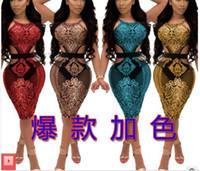 sexy paillettenkleider großhandel-reizvolle Kleider der Art und Weise des neuen Art der Frauen reizvoller Nachtclub Nachtgeschäft Rock Bikini-Partybartanz Perle Paillettenkleid Farbe 4