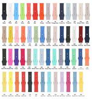 ingrosso orologi 55-55 colori Instock per orologio di marca Bracciale in silicone Cinturino di ricambio Cinturino Sport Cinturino 38 / 42mm
