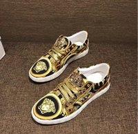 zapatos hombre hip-hop großhandel-Herren luxus mode punk hip hop leder high-top casual schuhe flache schuhe männer kleid hochzeit schuhe zapatos hombre 641